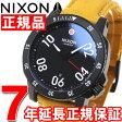 ニクソン NIXON レンジャーレザー RANGER LEATHER 腕時計 メンズ オールブラック/ゴールデンロッド NA5082448-00【2016 新作】【あす楽対応】【即納可】
