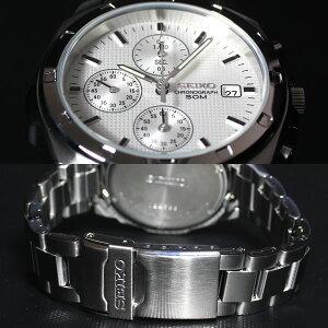 セイコー逆輸入SEIKOクロノグラフ腕時計SND187