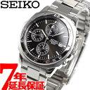 セイコー SEIKO 逆輸入 クロノグラフ ブラック SEIKO 腕時計 クロノグラフ SND191