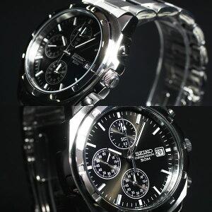 セイコー逆輸入クロノグラフSEIKO腕時計クロノグラフSND191