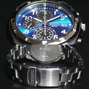 セイコー逆輸入クロノグラフSEIKO腕時計クロノグラフSND193