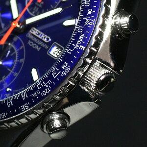 SEIKO逆輸入セイコーパイロットクロノグラフ腕時計SND255
