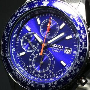 セイコーSEIKO腕時計メンズセイコー逆輸入SEIKOクロノグラフSND255パイロットクロノグラフ