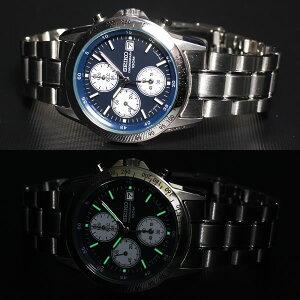 セイコー逆輸入SEIKO腕時計クロノグラフSND365