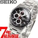 セイコー SEIKO 逆輸入 SEIKO クロノグラフ 腕時計 SND371P1 100M防水【あす楽対応】【即納可】