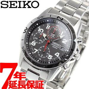 【10500円以上送料無料】セイコーSEIKO腕時計クロノグラフSND375100M防水