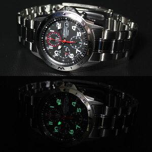 セイコー逆輸入クロノグラフSEIKO腕時計クロノグラフSND375
