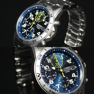 セイコー逆輸入SEIKO腕時計クロノグラフSND379P1
