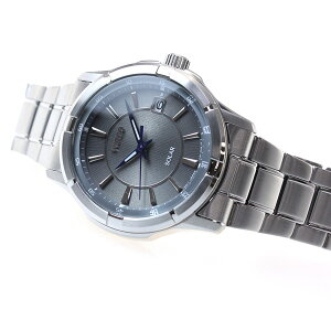 セイコーワイアードSEIKOWIREDソーラー腕時計メンズグレー&ブルーAGAD086【2016新作】