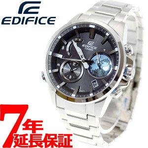 カシオエディフィスCASIOEDIFICEBluetoothブルートゥース対応ソーラー腕時計メンズアナログEQB-600D-1A2JF