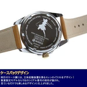 AGAK701セイコーワイアード進撃の巨人コラボ限定モデルエレンシグネチャーモデル腕時計メンズSEIKOWIRED【2016新作】【あす楽対応】【即納可】