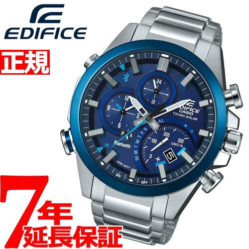 カシオ エディフィス CASIO EDIFICE Bluetooth ブルートゥース 対応 ソーラー 腕時計 メンズ TIME ...