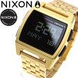 ニクソン NIXON ベース BASE 腕時計 レディース オールゴールド NA1107502-00【2017 新作】