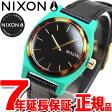 ニクソン NIXON ミディアム タイムテラー MEDIUM TIME TELLER LEATHER 腕時計 レディース グリーン/ミックス NA11722707-00【2017 新作】