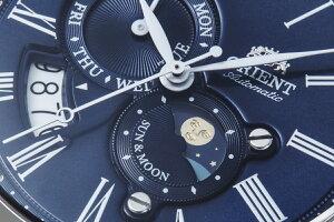 オリエントORIENTクラシックCLASSIC腕時計メンズ自動巻きオートマチックメカニカルサン&ムーンRN-AK0004L【2017新作】
