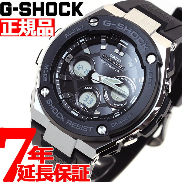 腕時計, メンズ腕時計 2001OFF37202359G-SHOCK G-STEEL G G CASIO GST-W300-1AJF