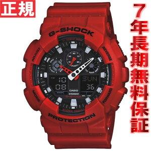 カシオGショックCASIOG-SHOCK時計メンズ腕時計アナデジGA-100B-4AJF