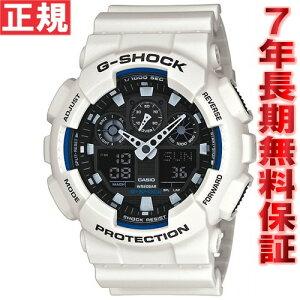 カシオGショックCASIOG-SHOCK時計メンズ腕時計アナデジGA-100B-7AJF