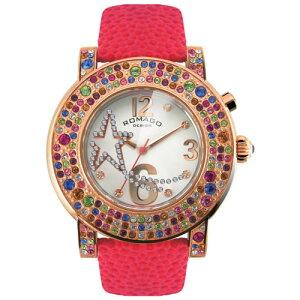 ロマゴデザインROMAGODESIGN腕時計レディースBUBBLEバブルRM013-1607ST-RD