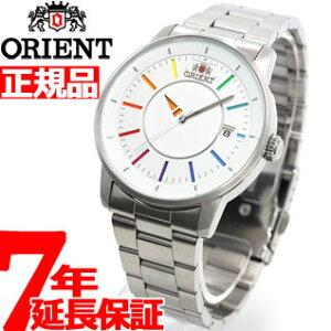 オリエント ORIENT スタイリッシュ&スマート ディスク DISK レインボー WV0821ER 腕時計 メン...