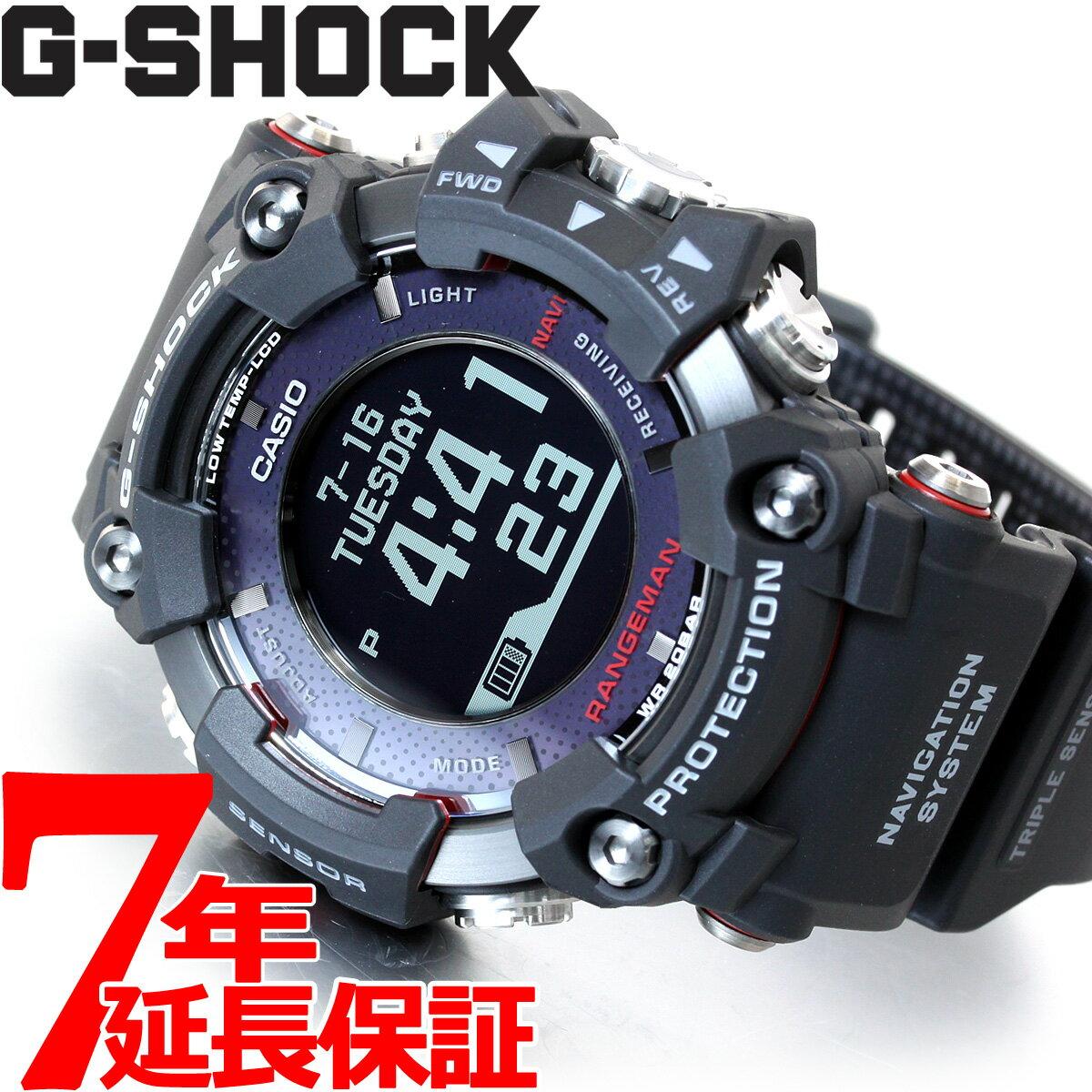 腕時計, メンズ腕時計 1OFF38232359G-SHOCK GPS G CASIO RANGEMAN Bluetooth GPR-B1000-1JR