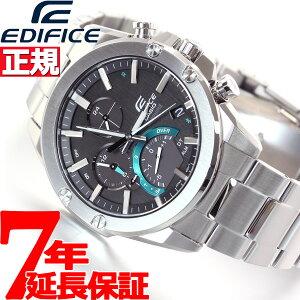 カシオ エディフィス CASIO EDIFICE 電波 ソーラー 電波時計 腕時計 メンズ タフソーラー クロノグラフ Slim Line EQB-1000YD-1AJF