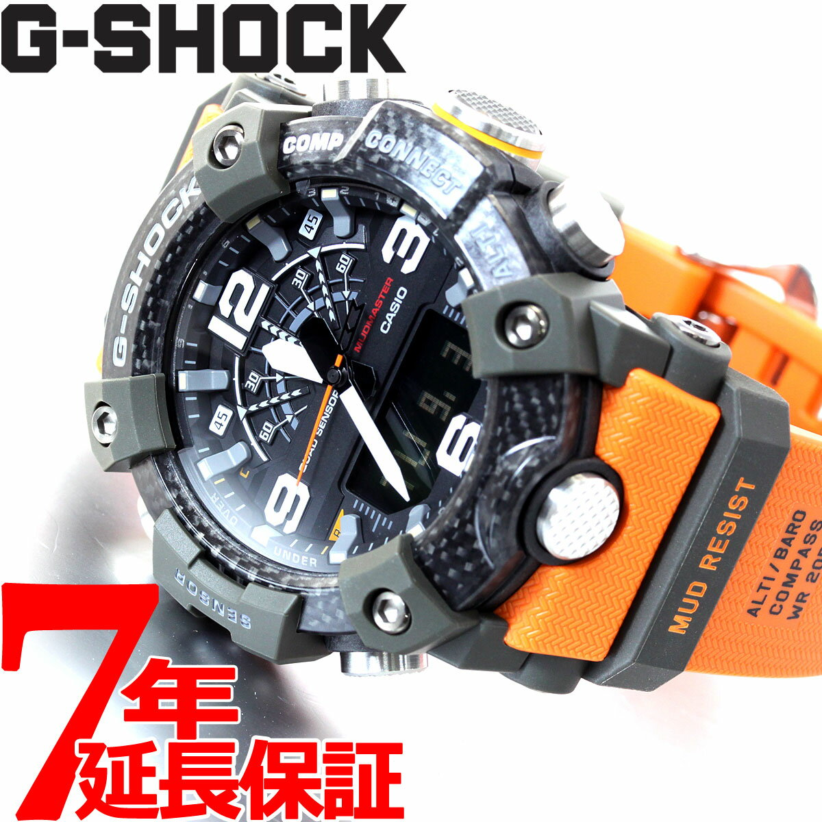 腕時計, メンズ腕時計 35G-SHOCK G CASIO MASTER OF G GG-B100-1A9JF