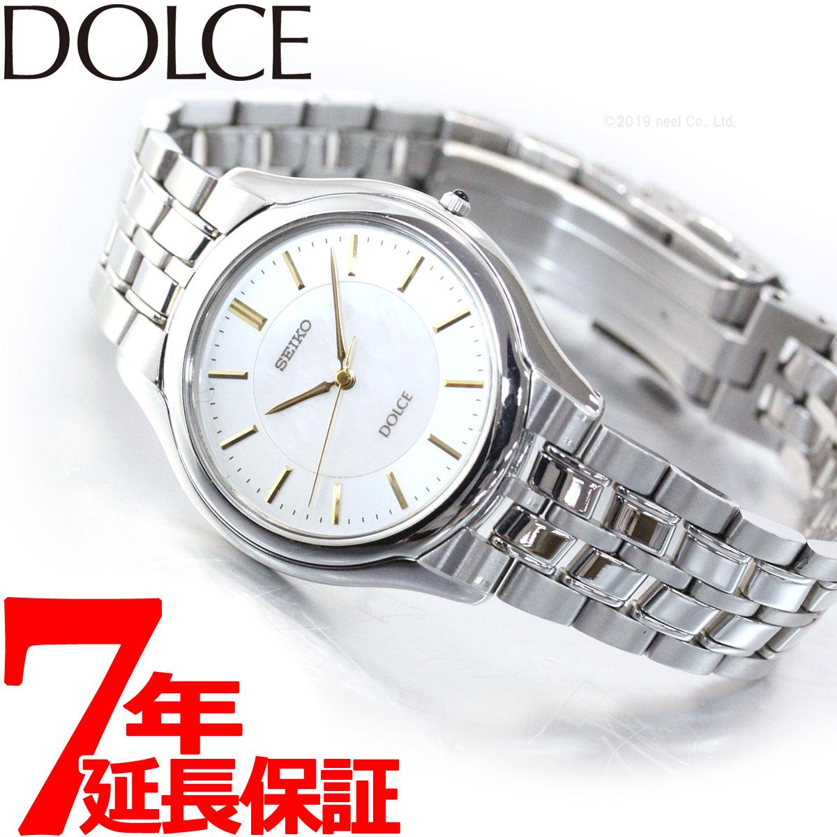 腕時計, ペアウォッチ 5000OFF37.5 SACL009 DOLCEEXCELINE SEIKO