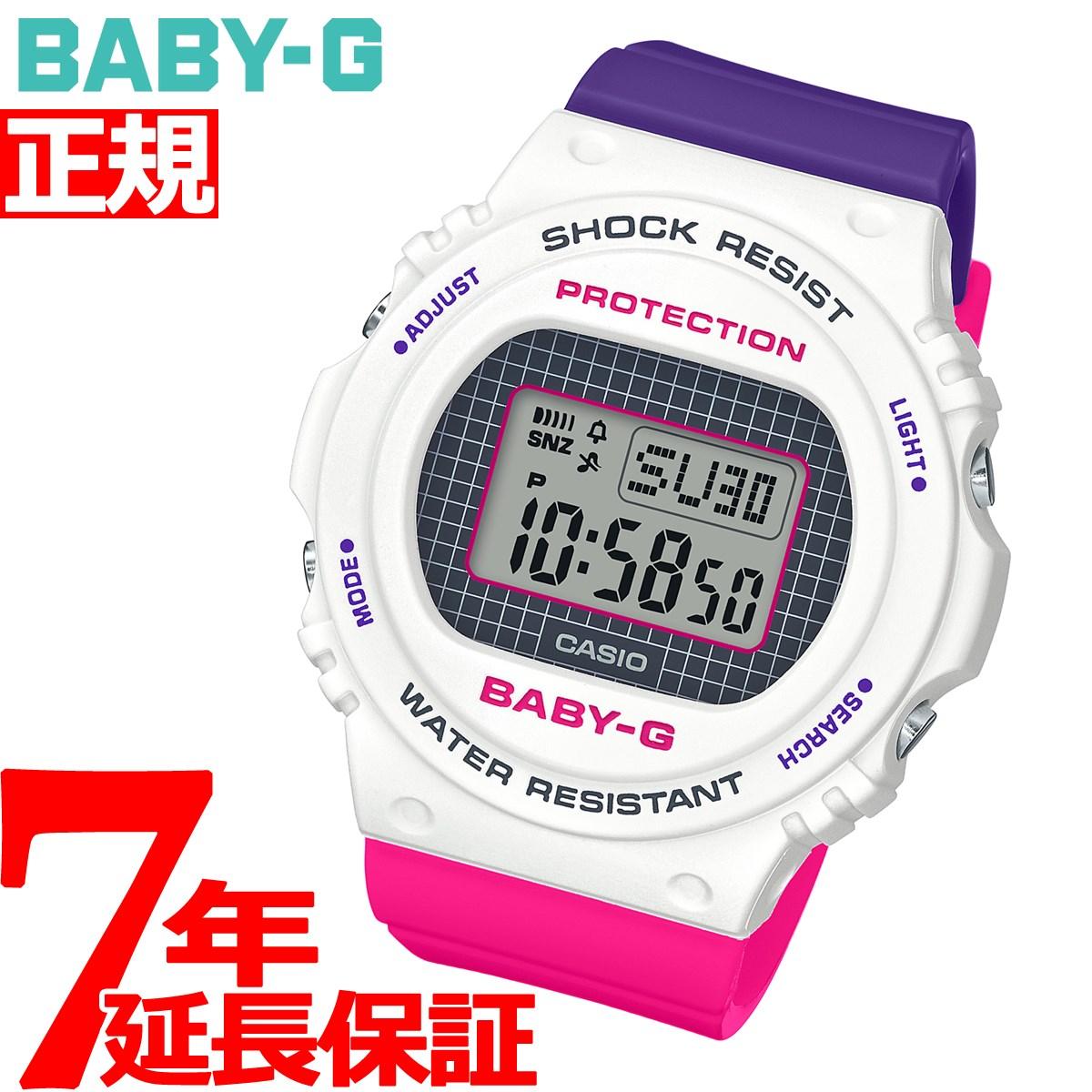 腕時計, レディース腕時計 34BABY-G G Throwback 1990s BGD-570THB-7JF