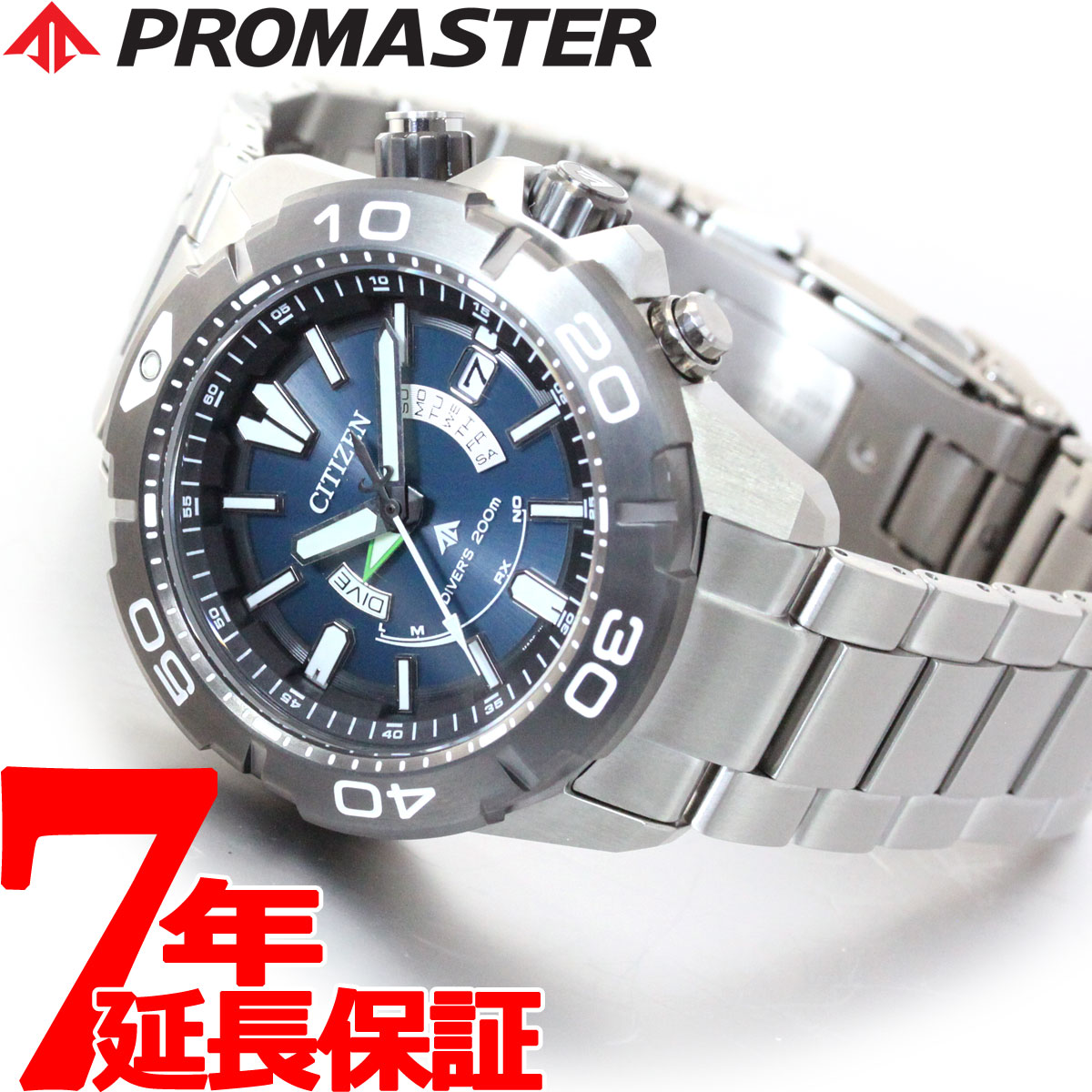 腕時計, メンズ腕時計 34 CITIZEN PROMASTER MARINE 2019 AS7145-69L