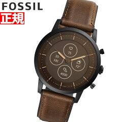 【2020新作】フォッシル スマートウォッチ ハイブリッドHR メンズ腕時計(FTW7008)
