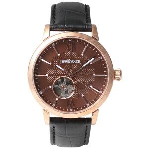 ニューヨーカー NEWYORKER 腕時計 メンズ 自動巻き NY001.09 正規品 送料無料!ニューヨーカー ...