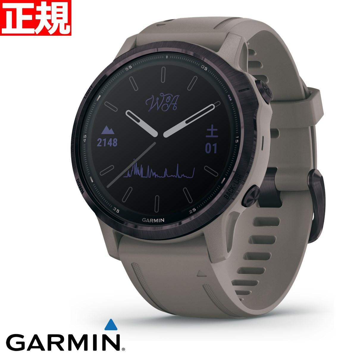 スマートフォン・タブレット, スマートウォッチ本体 22101OFF3526959 GARMIN fenix 6S Pro Dual Power WOA Amethyst Shale 6S GPS 010-02409-222020