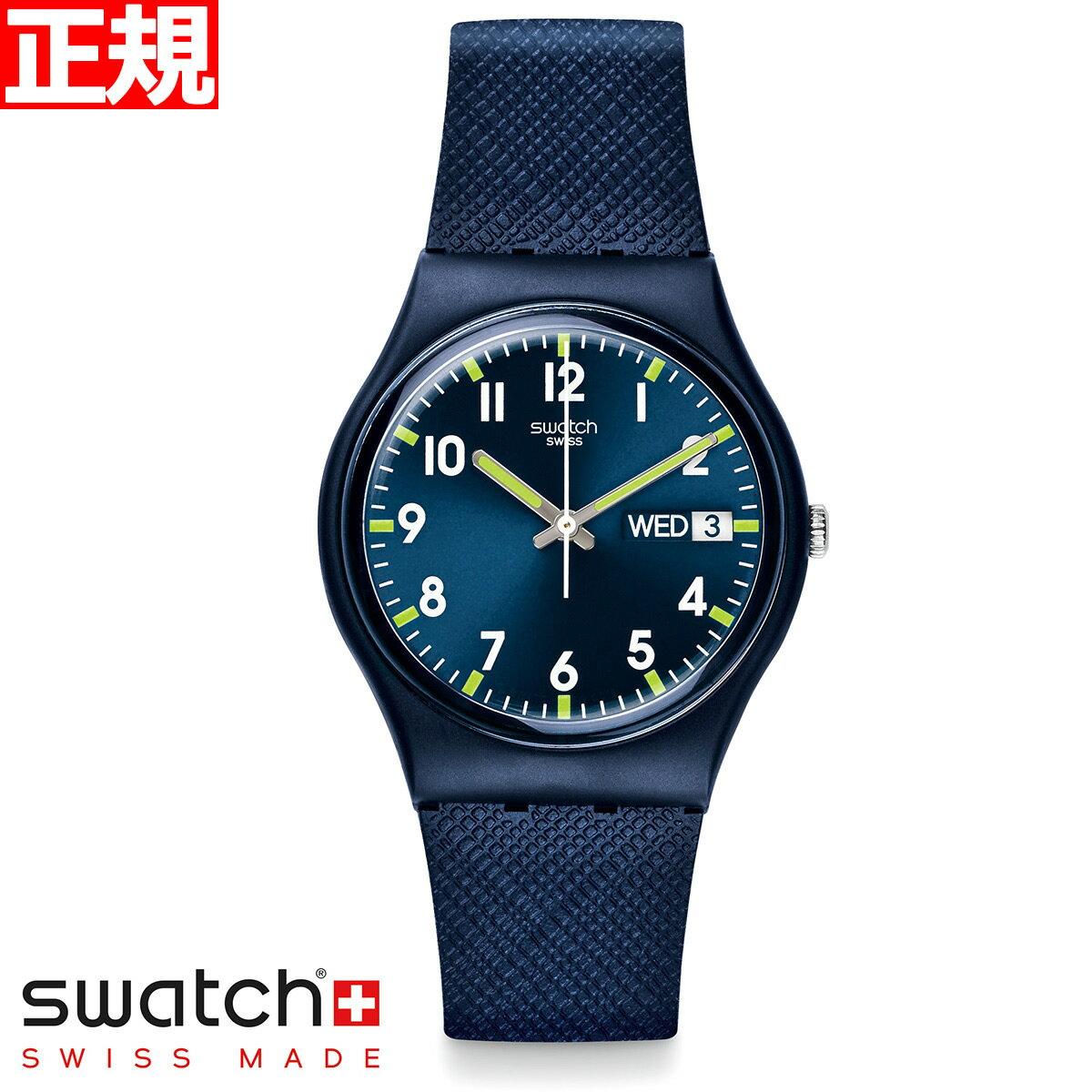 腕時計, メンズ腕時計 23101OFF3726959swatch Originals Gent SIR BLUE GN718