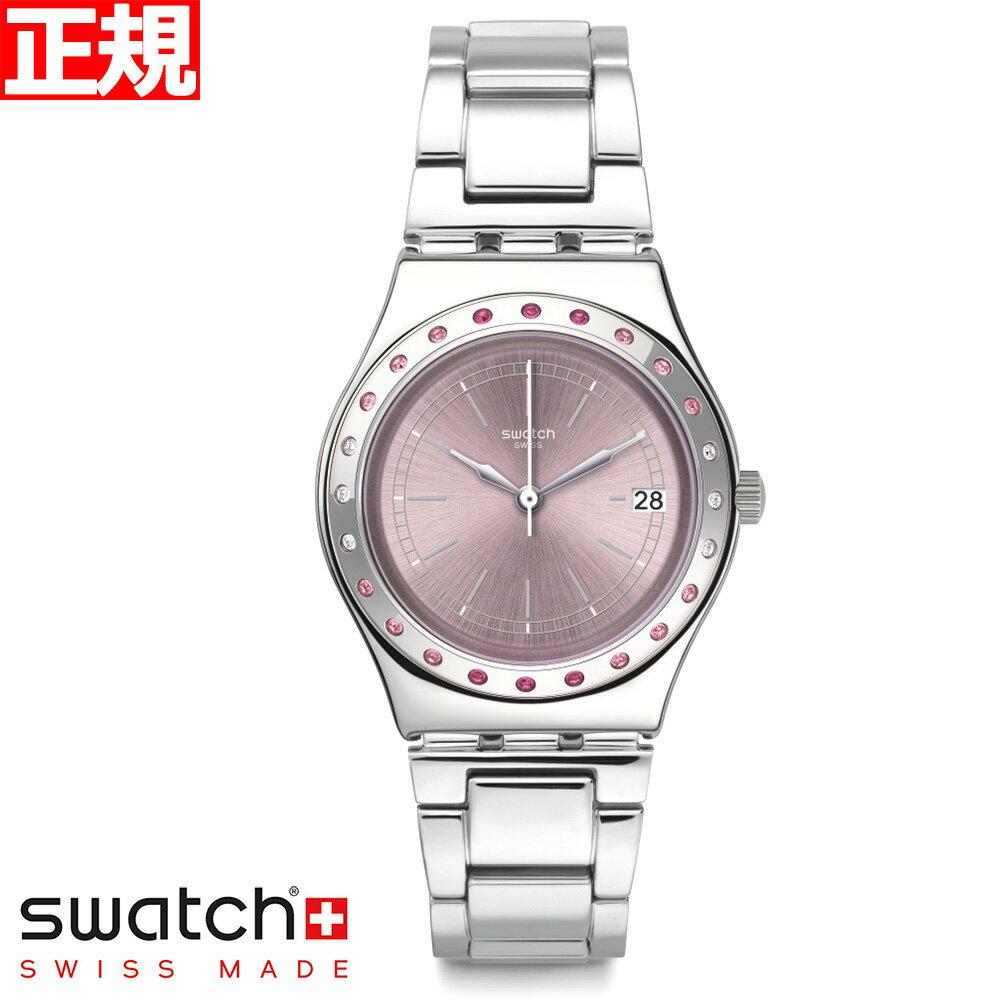 腕時計, レディース腕時計 34swatch Irony Medium PINKAROUND YLS455G