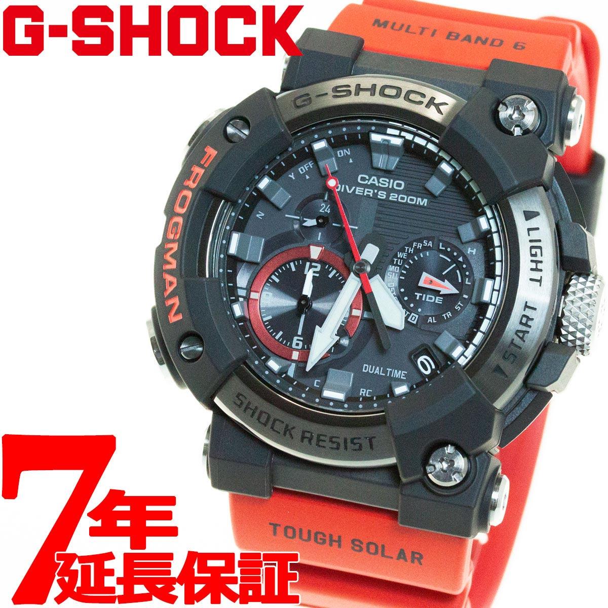 腕時計, メンズ腕時計 2001OFF37202359G-SHOCK G CASIO FROGMAN MASTER OF G GWF-A1000-1A4JF2020
