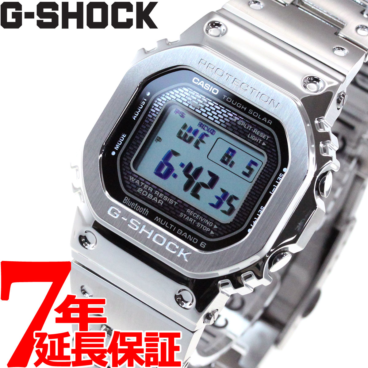 腕時計, メンズ腕時計 18102000OFF37.5 G CASIO G-SHOCK Bluetooth GMW-B5000D-1JF