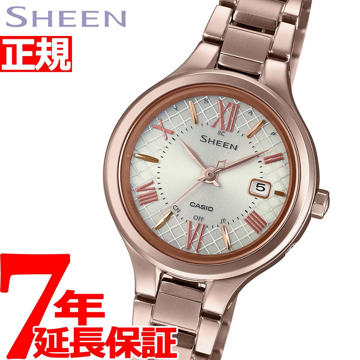 腕時計, レディース腕時計 2000OFF57152359 CASIO SHEEN SHW-7000TCG-4AJF2020