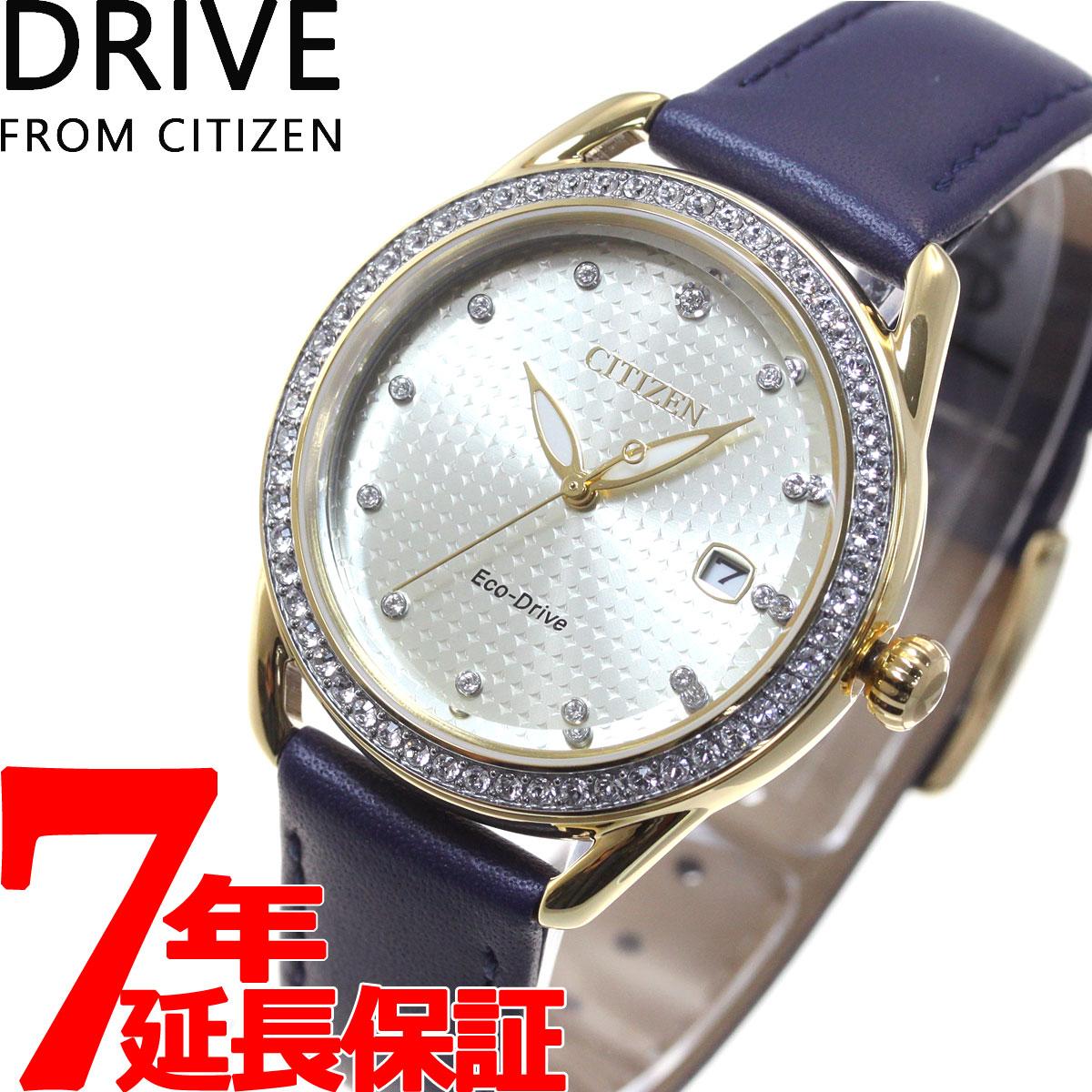 腕時計, レディース腕時計 34DRIVE FROM CITIZEN FE6112-09P