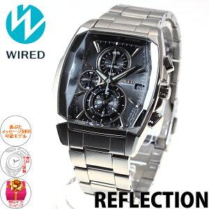 セイコーワイアードSEIKOWIRED腕時計メンズREFLECTIONリフレクションクロノグラフAGAV104