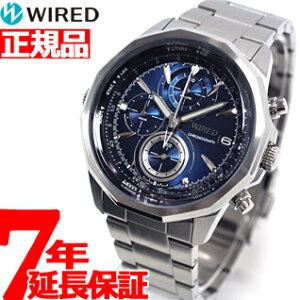 セイコー ワイアード SEIKO WIRED AGAW419 腕時計 メンズ THE BLUE ザ・ブルー クロノグラフ 正...