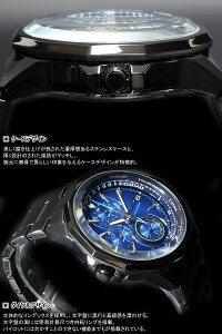 時計メンズTHEBLUEザ・ブルーSKYクロノグラフAGAW421