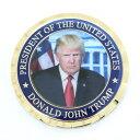 ドナルド・トランプ 第45代アメリカ合衆国大統領就任記念メダル