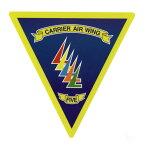自衛隊グッズ 耐水性ステッカー 厚木基地 US.NAVY 第5空母航空団 FIVE CARRIER WING