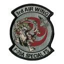 自衛隊グッズ 三沢基地 F-35A 3rd AIR WING 雷神 パッチワッペン
