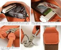 ButlerVernerSails/日本製本革シュリンクレザーバムフラップミニショルダーバッグ