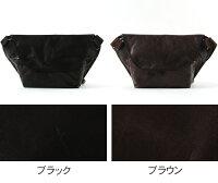 ButlerVernerSails/日本製ポニーレザーメッセンジャーバッグ