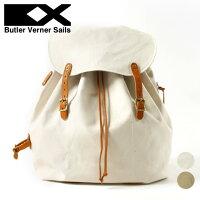 ButlerVernerSails/日本製栃木レザー×キャンバスミリタリーバッグパック
