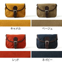 ButlerVernerSails/日本製パラフィンミニショルダーバッグ