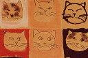 顔の整列 掛布団カバー190×210